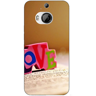 1 Crazy Designer Love  Back Cover Case For HTC M9 Plus C680727