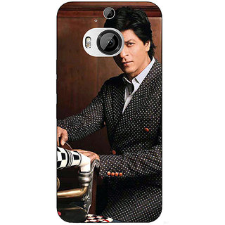 1 Crazy Designer Bollywood Superstar Shahrukh Khan Back Cover Case For HTC M9 Plus C680965