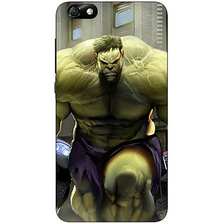 1 Crazy Designer The Incredible Hulk Back Cover Case For Huwaei Honor 4X C690857