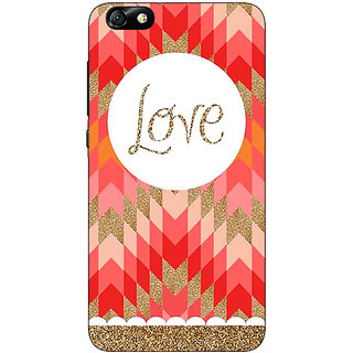 1 Crazy Designer Love Back Cover Case For Huwaei Honor 4X C690096