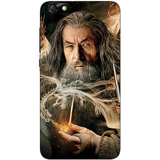 1 Crazy Designer LOTR Hobbit Gandalf Back Cover Case For Huwaei Honor 4X C690358