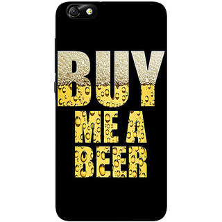 1 Crazy Designer Beer Quote Back Cover Case For Huwaei Honor 4X C691224