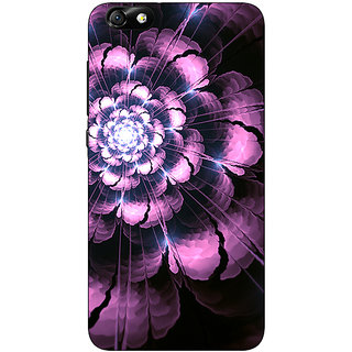 1 Crazy Designer Abstract Flower Pattern Back Cover Case For Huwaei Honor 4X C691502