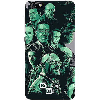 1 Crazy Designer Breaking Bad Heisenberg Back Cover Case For Huwaei Honor 4X C690401