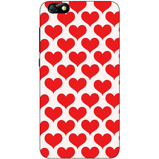1 Crazy Designer Hearts Back Cover Case For Huwaei Honor 4X C690703