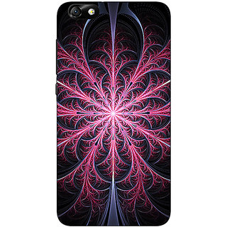 1 Crazy Designer Abstract Flower Pattern Back Cover Case For Huwaei Honor 4X C691524