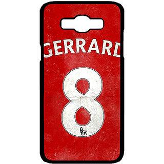 1 Crazy Designer Liverpool Gerrard Back Cover Case For Samsung Galaxy J7 C700546