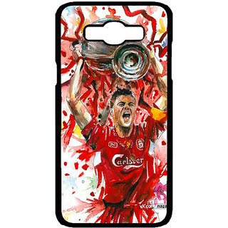 1 Crazy Designer Liverpool Gerrard Back Cover Case For Samsung Galaxy J7 C700550