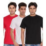 Combo Red White Black Crew T-Shirt