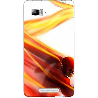 1 Crazy Designer Flash Back Cover Case For Lenovo K910 C711434