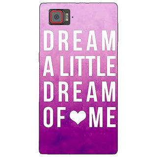 1 Crazy Designer Dream Love Back Cover Case For Lenovo K920 C720090