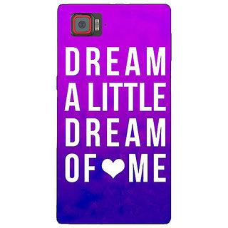 1 Crazy Designer Dream Love Back Cover Case For Lenovo K920 C720091