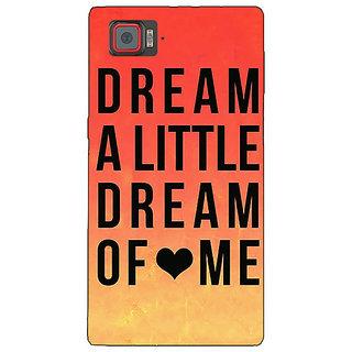 1 Crazy Designer Dream Love Back Cover Case For Lenovo K920 C720093
