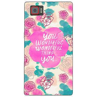 1 Crazy Designer Floral Pattern  Back Cover Case For Lenovo K920 C720677