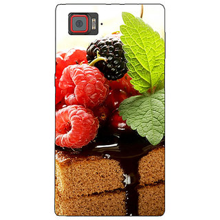 1 Crazy Designer Berry Cake Back Cover Case For Lenovo K920 C720682