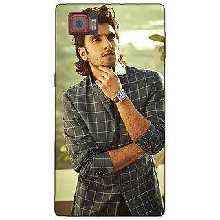 1 Crazy Designer Bollywood Superstar Ranveer Singh Back Cover Case For Lenovo K920 C720939