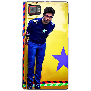 1 Crazy Designer Bollywood Superstar Siddharth Malhotra Back Cover Case For Lenovo K920 C720944