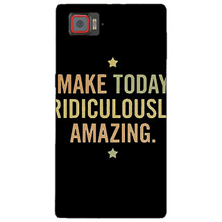 1 Crazy Designer Quotes Beautiful Back Cover Case For Lenovo K920 C721192