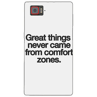 1 Crazy Designer Quotes Back Cover Case For Lenovo K920 C721196