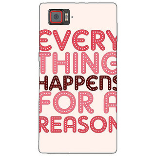 1 Crazy Designer Good Quote Back Cover Case For Lenovo K920 C721201