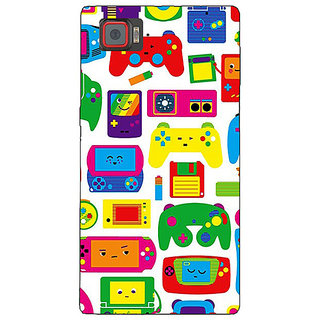 1 Crazy Designer Gamer Back Cover Case For Lenovo K920 C721453