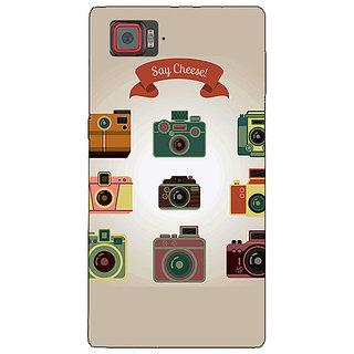 1 Crazy Designer Selfie Back Cover Case For Lenovo K920 C721455