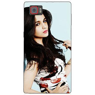 1 Crazy Designer Bollywood Superstar Alia Bhatt Back Cover Case For Lenovo K920 C721012
