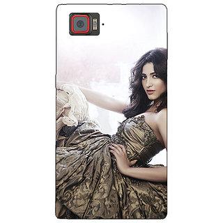 1 Crazy Designer Bollywood Superstar Shruti Hassan Back Cover Case For Lenovo K920 C721014