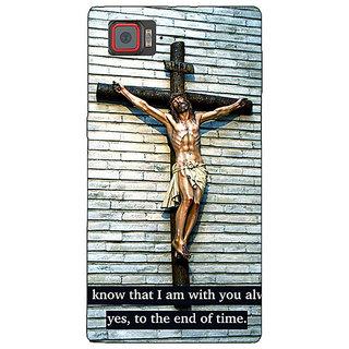1 Crazy Designer Jesus Christ Back Cover Case For Lenovo K920 C721268