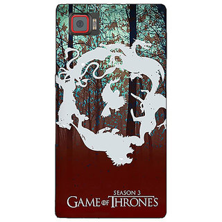 1 Crazy Designer Game Of Thrones GOT Houses Back Cover Case For Lenovo K920 C721527