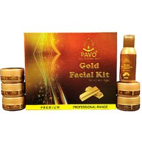 Pavo Gold Facial Kit
