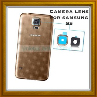 New Camera Lens Glass Cover - For Samsung Galaxy Note 5 - Gold