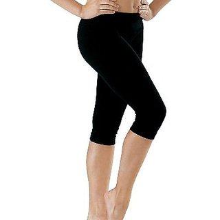 Raabta Fashion Plain Cotton Lycra For Women Single