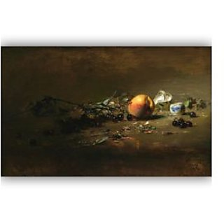 Vitalwalls Still Life Painting Canvas Art Print. Static-298-30cm
