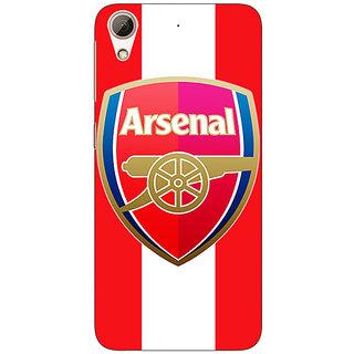 1 Crazy Designer Arsenal Back Cover Case For HTC Desire 626S C950509