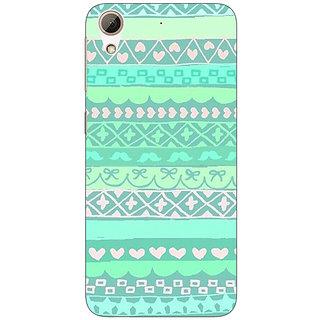 1 Crazy Designer Aztec Girly Tribal Back Cover Case For HTC Desire 728 C960074
