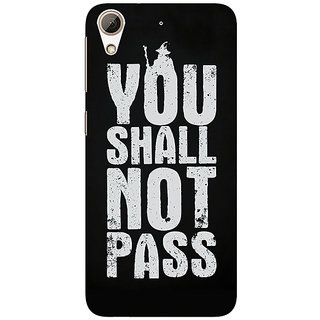 1 Crazy Designer LOTR Hobbit Gandalf Back Cover Case For HTC Desire 728 C960362