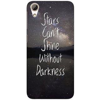 1 Crazy Designer Quote Back Cover Case For HTC Desire 626S C951478