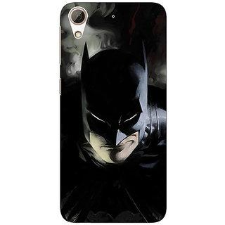 1 Crazy Designer Superheroes Batman Dark knight Back Cover Case For HTC Desire 728 C960006