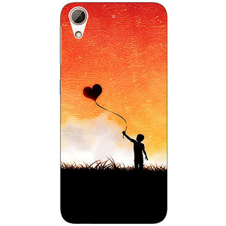 1 Crazy Designer Love In The Air Back Cover Case For HTC Desire 728 C960720