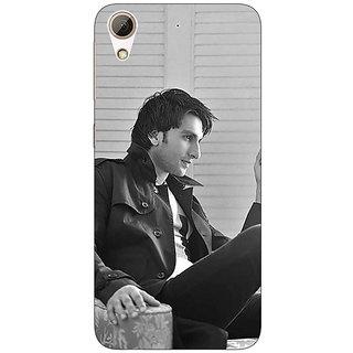 1 Crazy Designer Bollywood Superstar Ranveer Singh Back Cover Case For HTC Desire 728 C960945