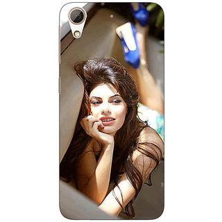 1 Crazy Designer Bollywood Superstar Jacqueline Fernandez Back Cover Case For HTC Desire 728G Dual Sim C970996