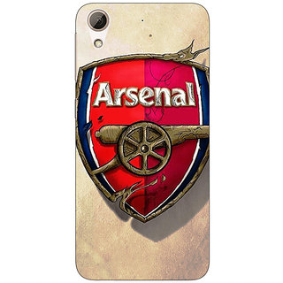 1 Crazy Designer Arsenal Back Cover Case For HTC Desire 728G Dual Sim C970515