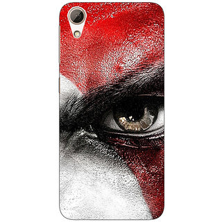 1 Crazy Designer God of War Back Cover Case For HTC Desire 728G Dual Sim C970854