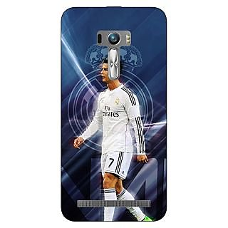 1 Crazy Designer Cristiano Ronaldo Real Madrid Back Cover Case For Asus Zenfone Selfie C990317
