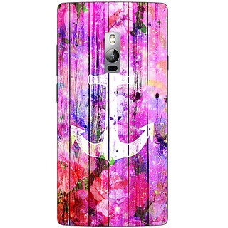 1 Crazy Designer Anchor Back Cover Case For OnePlus Two C1000604