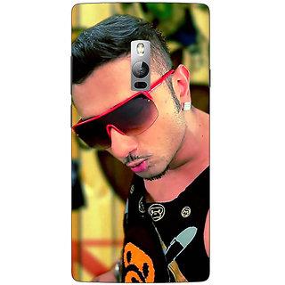 1 Crazy Designer Bollywood Superstar Honey Singh Back Cover Case For OnePlus Two C1001181