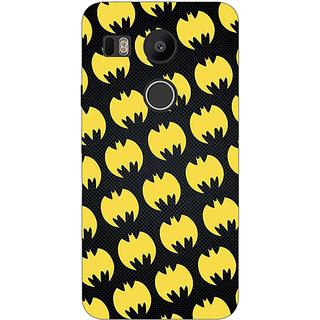 1 Crazy Designer Superheroes Batman Dark knight Back Cover Case For LG Google Nexus 5X C1010012