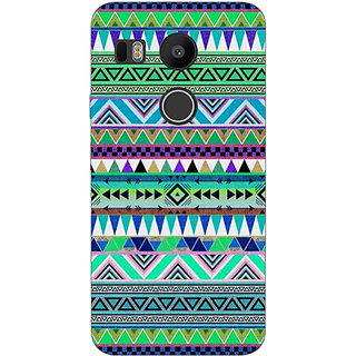 1 Crazy Designer Aztec Girly Tribal Back Cover Case For LG Google Nexus 5X C1010064