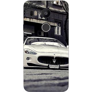 1 Crazy Designer Super Car Aston Martin Back Cover Case For LG Google Nexus 5X C1010645